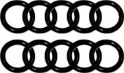 Beaver 111 UK Type Cylinder Valve O-rings. Pack of 10.