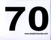 MOD Decal for 21m for Technical Nitrox Scuba Divers