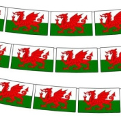 Wales/Welsh Bunting 3 metre lengths (10ft) - Fabric