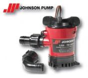 JOHNSON 12V L450 SUBMERSIBLE BILGE PUMP BOTH OUTLETS
