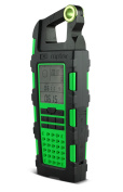 Eton Raptor Solar Charger with AM/FM/SW Plus Altimeter, Barometer, Compass, Chronograph, Clock, Bottle Opener