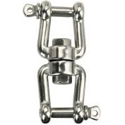 Stainless Steel Swivel Jaw & Jaw 6mm
