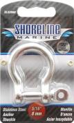 Shoreline Marine Stainless Steel Shackle Anchor, 0.8cm