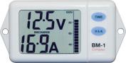 Nasa Compact Battery Monitor - White