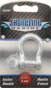 Shoreline Marine Galvanised Shackle Anchor, 0.8cm