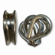 4 x 12mm Galvanised Wire Rope Thimbles Lifting Gear