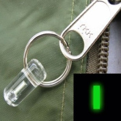 Firefly Bivvy Zip Pull Marker Glowring - Green - One Size