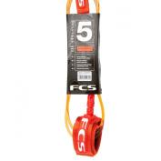 FCS Premium 5.5mm Comp 5ft Leash - Orange