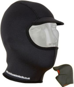 3mm Titanium Neoprene Surf Hood / Balaclava / Cap Gbs Seams And Watersport Fleece Lining. Quality product from NCW Cornwall