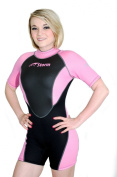 Storm Women's 2mm Pink Shorty Snorkel/Scuba/Water Sports Wetsuit