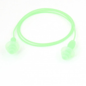 Silicone Round Shaped Wired Earplugs for Swimming