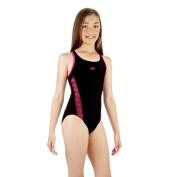 Speedo Girl's Monogram Muscleback Swimsuit