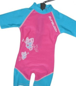 Zunblock Butterfly Children's UV-Protective Clothing Sun Suit Short Sleeve - ,