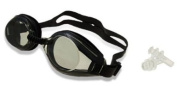 F268 Black Swim Swimming Water Silicone Pool Adult Goggles