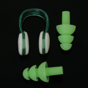 Water Sports Guard Swimming Nose Clip and Ear Plug Swimming Set