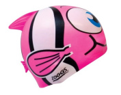 Zoggs Girl's Silicone Character Goldfish Swimming Cap