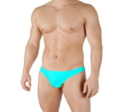 Mens New Solid Thong Swimsuit by Gary Majdell Sport
