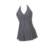 Hee Grand Women's Halter Neck Dress Style One Piece Swimsuit