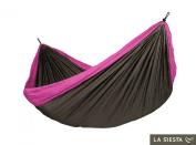 La Siesta Colibri Double travel hammock purple hammock