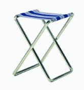 Crespo Folding Stool blue-grey camp stool