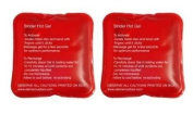 Hot Gel Pad Hand warmers (packs of 2) by Strider
