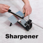 New Kitchen Professional Fix-angle Sharpening Cutlery Knife Sharpener System #gi
