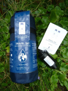 NEW 2013 Travel Tap 800 ml ' Flip Spout ' pure water filter bottle with insulated carrier and spare filter - 3200 litres
