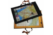 Aqua-Quest 'The Trail' Waterproof Map Case Transparent Dry Bag - Yellow Model