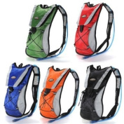 Yellow Hydration Pack Water Rucksack Backpack Cycling Bladder Bag Hiking Climbing Pouch
