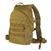 Army Tactical Rucksack Hydration Backpack Water Bladder MOLLE Airsoft Hiking Coyote