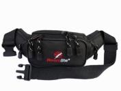 Black Bumbag up to 120cm waist Bag Bumbags Bum Bags RL12K Roamlite