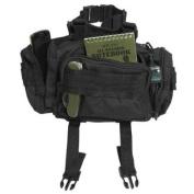 Modular System Waist Bag Belt Pack Hip Pocket MOLLE Travel Hiking Black