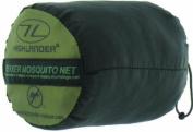 Highlander Trekker Mosquito Net - Olive/white