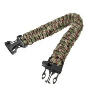 11 Colours 550 Paracord Type III 7 Strand Parachute Cord Survival Bracelet + Whistle Buckle