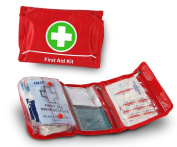 First Aid Medical Kit - Red