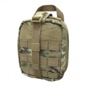 Condor Army Military EMT Medical First Aid Kit Pouch MOLLE System MultiCam Camo