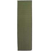 Andes Explora 2.5cm Single Self Inflating Camping Mat/Mattress, 195cm x 55cm, Carry Bag Included