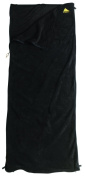 Kelty Rectangular Fleece Travel Sheet - Black