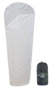 Yellowstone Mummy Sleeping Bag Liner - White