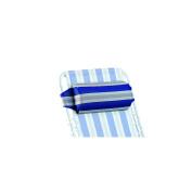 Crespo headrests blue-grey pillow