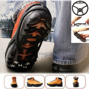 Ice Grippers - Excellent Traction on Ice & Snow.Anti-Slip. UK Sizes 3 - 7.5