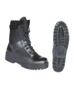 Kombat Britsh Army Style Combat Black Military Patrol Hiking Boot TA Cadet Work UK 4-12