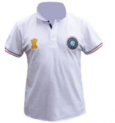 India Cricket Crest Polo Shirt
