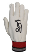 Kookaburra Full Chamois Cricket Wicket Keeping Inner - Neutral/Red/Black, Men's