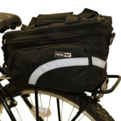 PEDALPRO BICYCLE REAR RACK PACK TAIL PANNIER BAG STORAGE BIKE/CYCLE COMMUTER