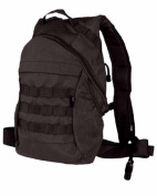 Tactical Patrol Rucksack Hydration MOLLE Pack Water Bladder Airsoft Hiking Black