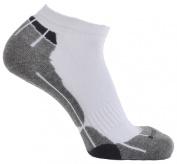 Horizon Technical Sport Trainer Socks - White/Grey/Charcoal, Size 31/2-7