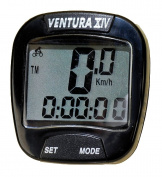 Ventura XIV Cycle Computer - Black