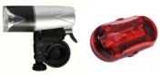 Raleigh Front 5 LED Super Bright and Rear 5 LED Ultra Bright Light Set