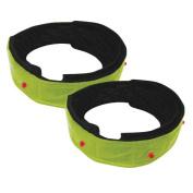 Optimum High Visibility Flashing Armband - Green